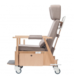 Ręcznie rozkładany fotel Santiago